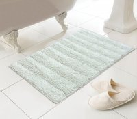 Country Club Madison Design 100% Cotton Bath Mat - Natural
