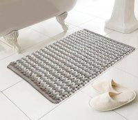 Country Club Helena Design Luxury Bath Mat - Latte/Natural