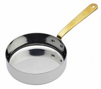 MasterClass Professional Mini Stainless Steel Serving Frypan 12cm