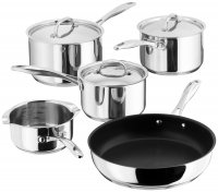 Stellar 7000 5 Piece Saucepan Set with Non-Stick Frying Pan