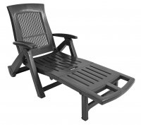Trabella Potenza Lounger Anthracite
