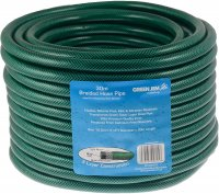 Green Jem Braided Hose Pipe - 30m