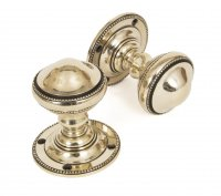 Aged Brass Brockworth Mortice Knob Set