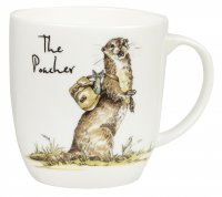 Churchill Poacher Olive China Mug 300ml
