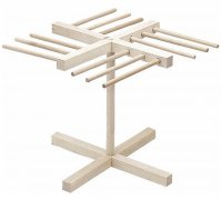 KitchenCraft Imperia Italian Pasta Wooden Drying Stand 33cm x 30cm