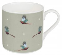 Sophie Allport Standard Mug - Flying Pheasant (Coloured)