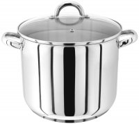 judge stainless steel stockpot with glass lid 26cm