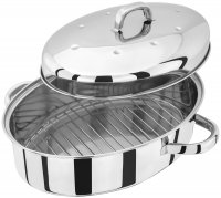 Judge High Oval Roasters with Self-Basting Lid - 2 Sizes