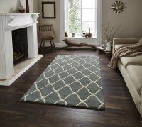 Think Rugs Elements EL 65 Blue - Various Sizes