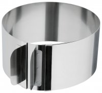 Judge Kitchen Adjustable Cake Ring 15-30cm