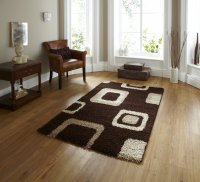 Think Rugs Majesty 2751 Brown - Various Sizes
