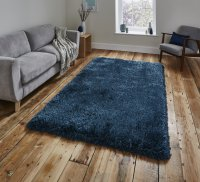 Think Rugs Montana Steel Blue - Various Sizes
