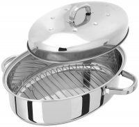 Judge High Oval Roaster with Thermic Base 35 x 25cm