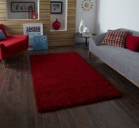 Think Rugs Vista 2236 Red - Various Sizes