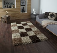Think Rugs Vista 2247 Check - Various Sizes