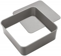 Judge Bakeware Square Cake Tin Loose Base 23 x 23 x 7cm / 9 x 9 x 2¾""