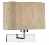 Dar Piza Wall Light Polished Chrome Shade Sold Separately