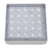 Searchlight Clear 25 White LED Square Walkover Light