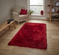 Think Rugs Montana Red - Various Sizes