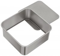 Judge Bakeware Square Cake Tin Loose Base 20 x 20 x 7cm / 7¾ x 7¾ x 2¾""