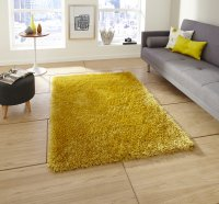 Think Rugs Monte Carlo Yellow - Various Sizes