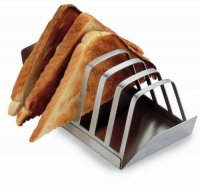 Grunwerg Stainless Steel 6 Slice Toast Rack