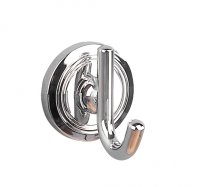 Miller Oslo Robe Hook Single Chrome