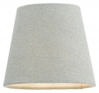 Dar Grey 13cm Linen Tapered Drum Shade