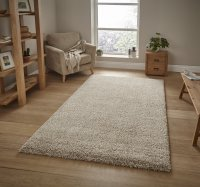 Think Rugs Loft 01810A Beige - Various Sizes