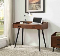Jual Vienna 1100 Drawer Desk in Walnut