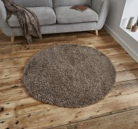 Think Rugs Vista 2236 Beige Circle - Various Sizes