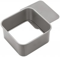 Judge Bakeware Square Cake Tin Loose Base 15 x 15 x 7cm / 6 x 6 x 2¾""