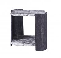 Jual Sorrento Grey Slate & Marble Lamp Table