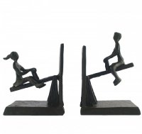 Elur Iron Book Ends See Saw 14cm