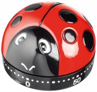 Judge Kitchen Analogue Timer - Ladybird