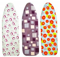 Metaltex Elastic Ironing Board Cover 140x50cm (Assorted Designs)