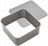 Judge Bakeware Square Cake Tin Loose Base 18 x 18 x 7cm / 7 x 7 x 2¾""