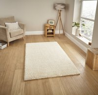Think Rugs Loft 01810A Cream - Various Sizes