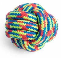 Petface Toyz Woven Rope Knotted Ball