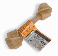 Petface Natural Rawhide Knotted Bone Dog Chew 15cm