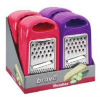 Metaltex Brava Vegetable Grater (Assorted Colours)