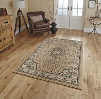 Think Rugs Diamond 4400 Beige - Various Sizes