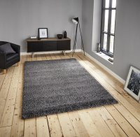 Think Rugs Loft 01810A Grey - Various Sizes