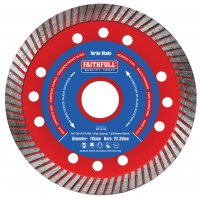 "Faithfull 41/2"" Diamond Blade Pack 115mm"