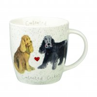 Churchill Alex Clark Cocker Spaniel Squash Mug 390ml
