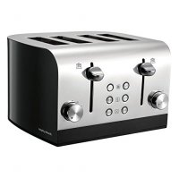 Morphy Richards Equip 4 Slice Toaster Black