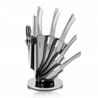 Tower 7 Piece Knife Set with Rotating Stand