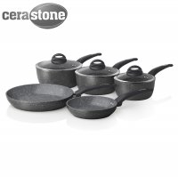 Tower 5 Piece Forged Pan Set Graphite