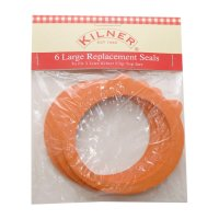 Kilner Replacement Clip Top Jar Rubber Seals (Pack of 6) - Large