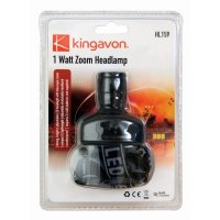 kingavon 1 watt zoom head lamp